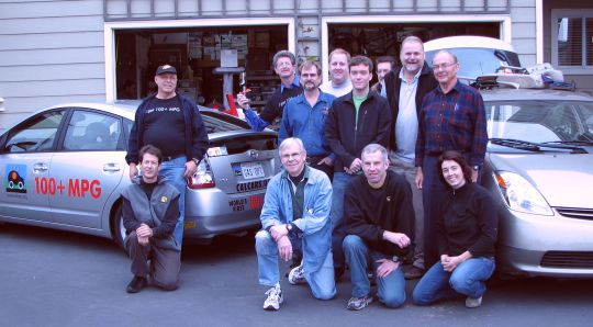 Crew of 12 who assembled PRIUS+ #4